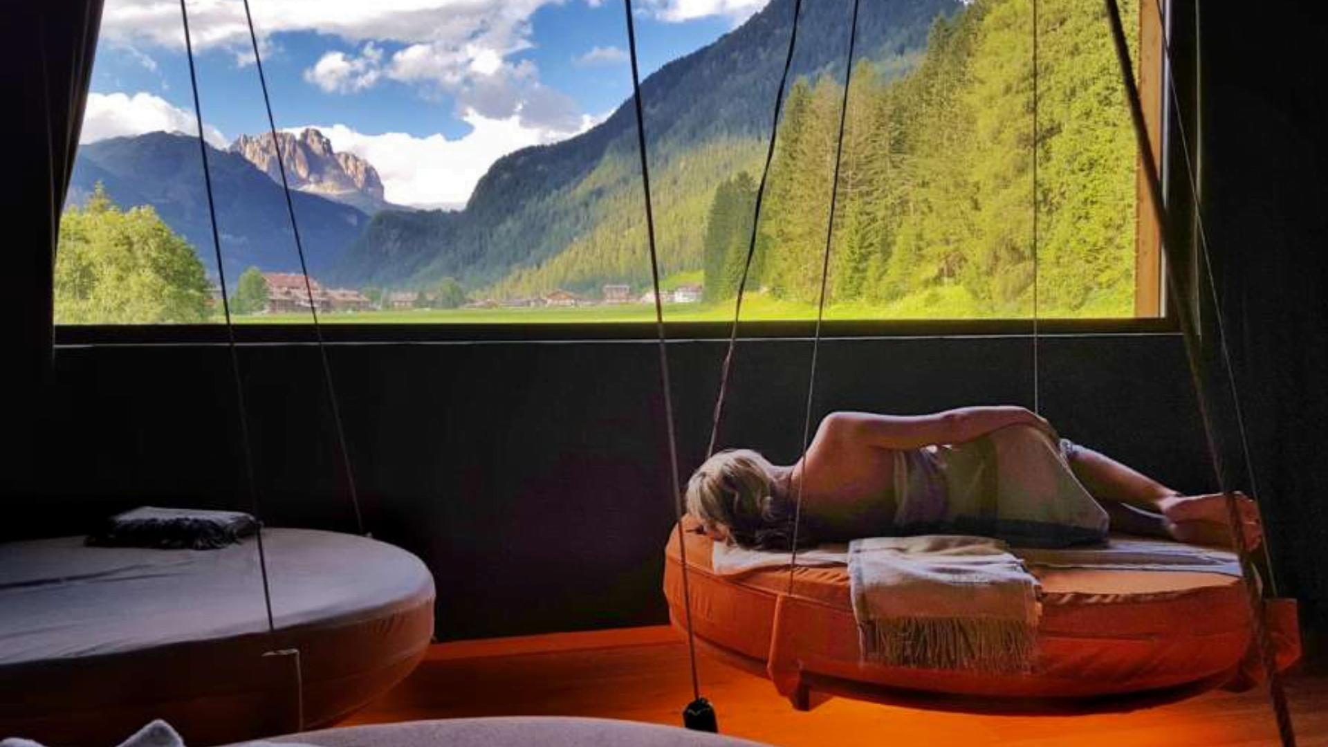 QC Terme Dolomiti lõõgastusruum